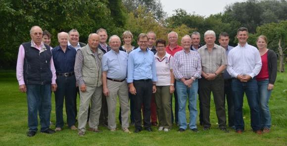 Mitglieder der CDU Holtsee